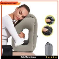 Bantal Angin Tiup Bantal Peluk Travel Pillow Tiup Otomatis Bantal