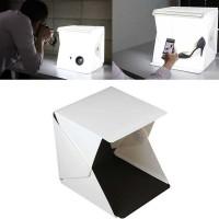 Photo Studio Mini Magnetic dengan Lampu LED - Size M