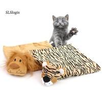 Matras Tidur Bentuk Singa Untuk Kucing
