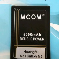 Batre Baterai Double Power Mcom HuangMi Huang Mi M5 - Galaxy M5