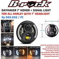 Reflektor Daymaker 7 inch Homer with signal light baru