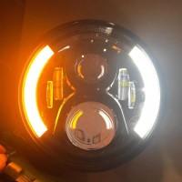 Daymaker HOMER 7 inch LENGKAP BATOK ADA LAMPU SEN NYA baru