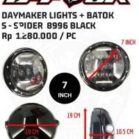 Headlight daymaker S - SPIDER short 7 INCH baru
