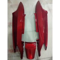 Cover Body Kiri Kanan Belakang Merah Maroon Yamaha Mio Sporty / Smile