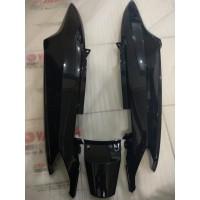 Cover Body Kiri Kanan Belakang Hitam Manggis Yamaha Mio Sporty / Smile