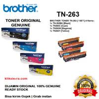 BROTHER Toner 1SET TN-263 BKCMY   TN263BKCMY   TN263BK Original TN263