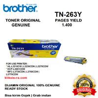BROTHER Toner TN-263Y   TN263Y   TN263 Y Yellow Original