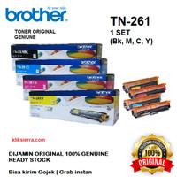 BROTHER Toner 1SET TN-261BK CMY   TN261BK CMY Original TN261