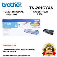 BROTHER Toner TN-261C   TN261C   TN261 C Original Cyan