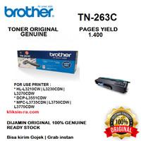 BROTHER Toner TN-263C   TN263C   TN263 C Cyan Original