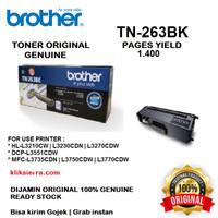 BROTHER Toner TN-263BK   TN263BK   TN263 BK Black Original