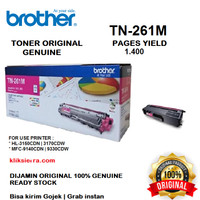 BROTHER Toner TN-261M   TN261M   TN261 M Original Magenta