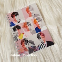 Buku Catatan Notebook Agenda Cover BTS