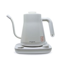 EDELMANN ELECTRIC GOOSENECK KETTLE PKT-600T (AUTO - TEMP ) 600ML WHITE