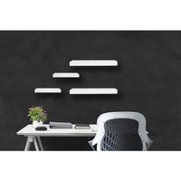 Rak Dinding Floating Shelves Minimalis 4 pcs uk. 30, 30, 40, 40 cm