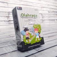 Flashcard Olahraga - KONSEP Kartu Pintar Mainan Edukasi Anak