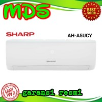 AC SHARP AH-A5UCY 1/2pk TURBO COOL SERIES R32 0.5pk Garansi 10th 5ucy