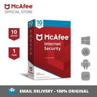 McAfee Internet Security Antivirus ORIGINAL [10 Devices / 1 year]