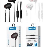 Headset Philips DGL-169 Pure Bass With Mic Earphone Sporty DGL169 Bass