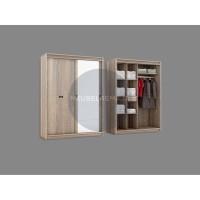 Lemari pakaian sliding + swing door rosebay - 1640 x 60 x 2200