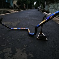 Knalpot CBR 150R facelift Cobra TwoTone