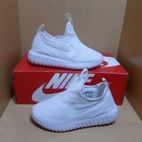 Sepatu Anak Nike Slip On Full White 30-35