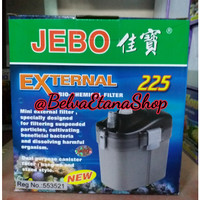 JEBO 225 External Bio Chemical Filter Canister Aquarium Aquarium