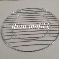 Alat pendingin kue/cooling rack bahan stainless diameter 26 cm