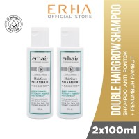 Erha Value Pack Hairgrow Shampoo 100 ml - Shampoo Rambut Rontok