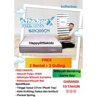 Kasur Spring Bed In The Box X ukuran 160 x 200 (Queen) FREE SHIPPING