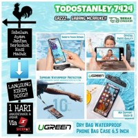UGREEN Dry Bag Waterproof Phone Pouch Case - Swimming Pouch Handphone