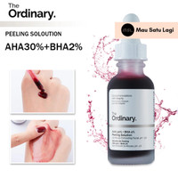 The Ordinary Aha 20% + BHA 2% Peeling Solution