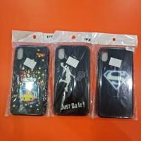 Soft case gambar 3D Iphone X