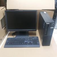CPU Lenovo Core i3 2120/RAM4GB/HDD500GB dan LAYAR 19INCI