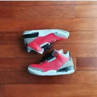 Nike Air Jordan 3 SE Unite Red Cement 2020 ORI