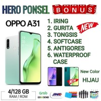 OPPO A31 2020 RAM 4/128 GB GARANSI RESMI OPPO INDONESIA