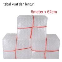 Bubble wrap 62cm x 5 meter berkualitas plastik bubblewrap