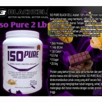 BlackCell IsoPure 2lbs whey protein isolate wpi