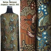 Kain Batik Katun Organik 043 / Kain Batik 100% Cotton (Per 0,5 Meter)