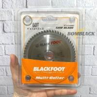 Mata Gerinda Potong Kayu 4 60T Pisau Gergaji Alumunium Saw BLACKFOOT