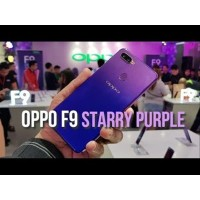 OPPO F9 - Starry Purple - Ram 4GB - Rom 64GB - 4G-LTE - Dual Sim -