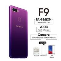 Jual Oppo F9 4 l 64 Gb Garansi Resmi warna Starry Purple Limited
