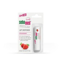 Sebamed Lip Defense SPF 30 Strawberry 4.8 gr-Lip Balm-Pelembab Bibir