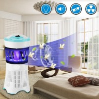 Mb LED Flying Insect Killer Lamp Electric Zapper Bug Mosquito