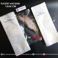 Plastik Vacuum 13 X 36 Cm Vacum Bag, Plastic Vakum Mesin Sealer