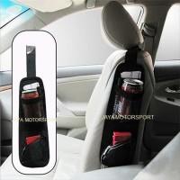 Car Seat Side Organizer Tas Samping Bangku Mobil Multifungsi - Bl