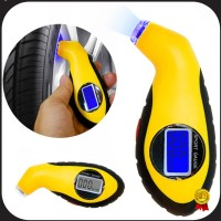 Manometer Tekanan Ban Mobil Digital Tire Gauge LCD Barometers - 1412
