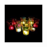 Dapat Whisky Warna LED Gelas Bir Hmdccup Berubah Wine Lampu dengan