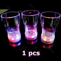 Gelas Bir dengan 6 Lampu LED untuk Pesta Pernikahan / Club