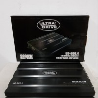 power mobil audio amplifier 4 ch 4 channel mosfet Ultra Drive